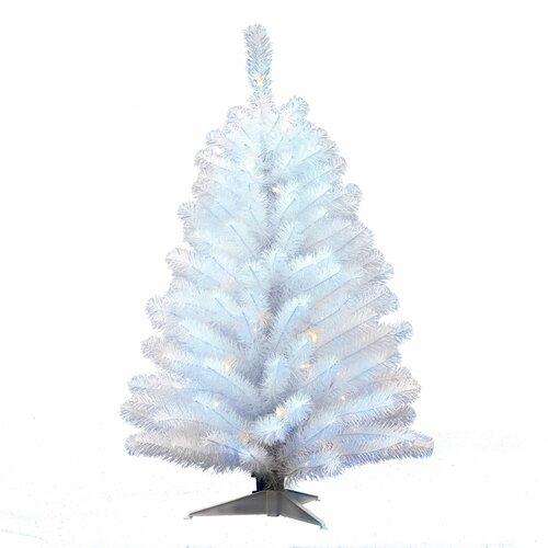 Künstlicher Weihnachtsbaum 30 cm Weiß mit 50 Leuchten und Ständer Die Saisontruhe   Weihnachten > Weihnachtsbeleuchtung   Die Saisontruhe