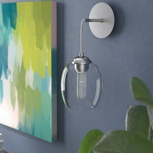 Hagert 1-Light Armed Sconce by Mercury Row