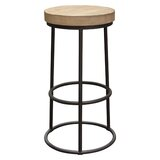 Cooper Round Backless 30 Bar Stool by Diamond Sofa