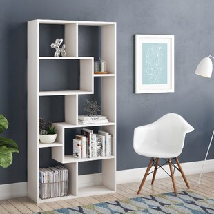 Carbone Geometric Bookcase
