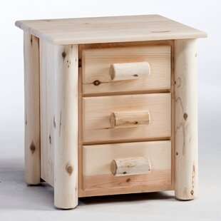 Frontier 3 Drawer Nightstand