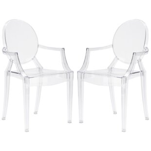 Bentlee Stacking Patio Dining Chair (Set of 2) by Everly Quinn