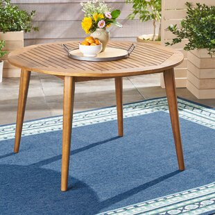 Gardner Wooden Dining Table by George Oliver Best Choices