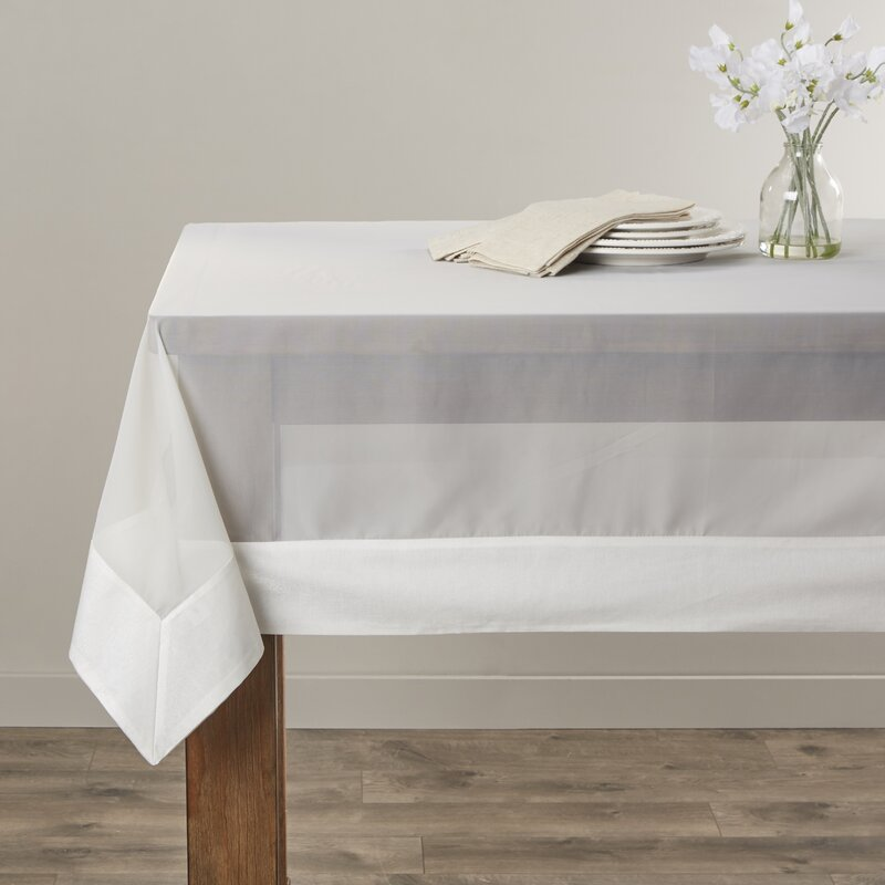 Captivating Sheer Elegance Tablecloth