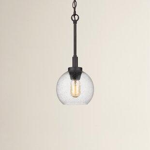 Fulton 1-Light Globe Pendant by Trent Austin Design