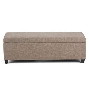 Avalon Upholstered Storage Bench bySimpli Home