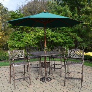 Braddock 7 Piece Bar Height Dining Set