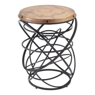 Rustic Top Ring End Table by Global Views