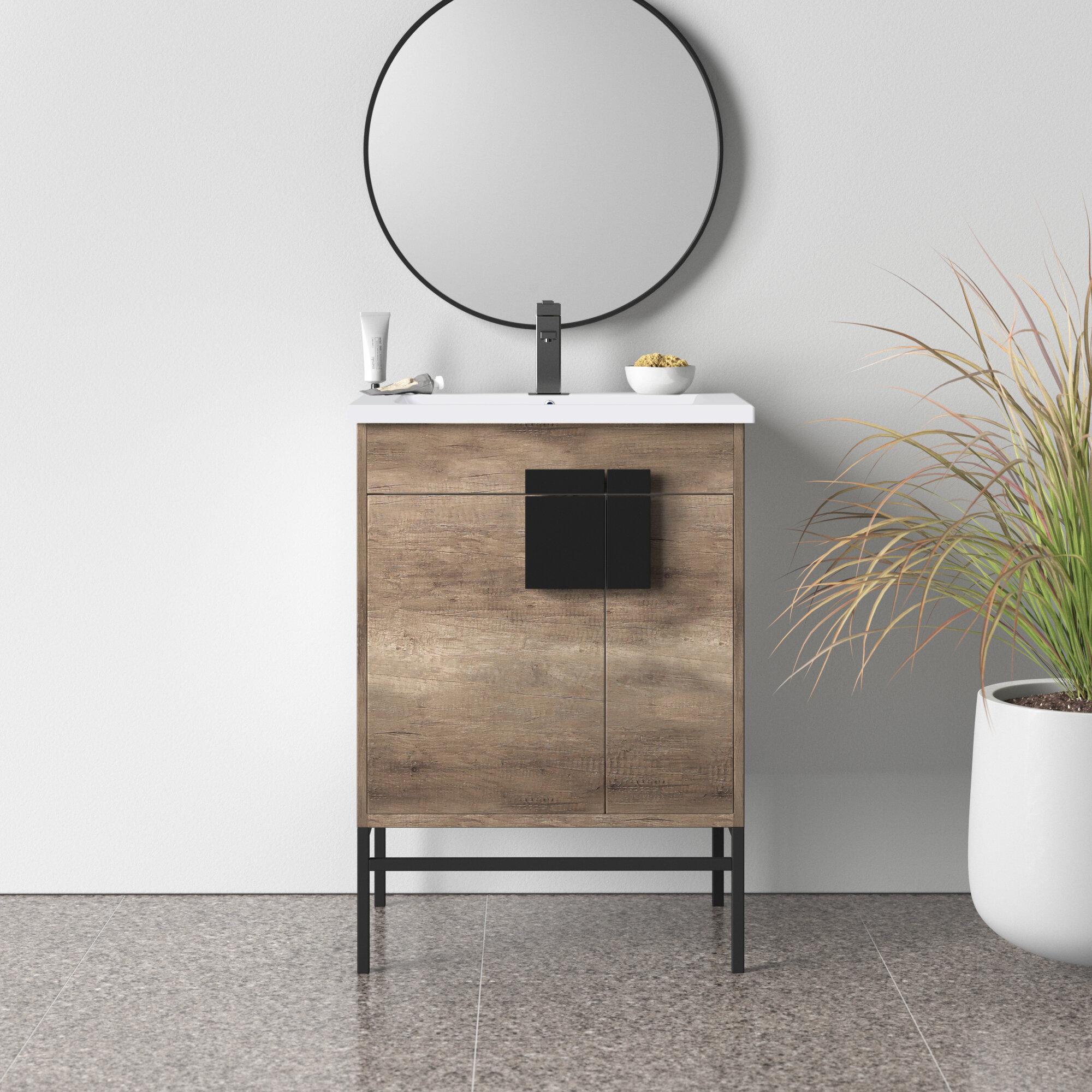 Lee 24 Single Bathroom Vanity Set Reviews Allmodern