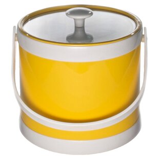 Springtime 3 Quart Ice Bucket Yellow