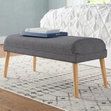 Raleigh Upholstered Ottoman by Langley Street™