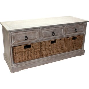 Upolu 3 Drawer Storage Hallway Bench by House Additions