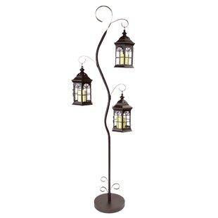 Best Price Harpenden Outdoor 72 Arched/Arc Floor Lamp By Fleur De Lis Living