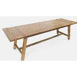 Thame Counter Height Extendable Pine Solid Wood Dining Table by Loon Peak®