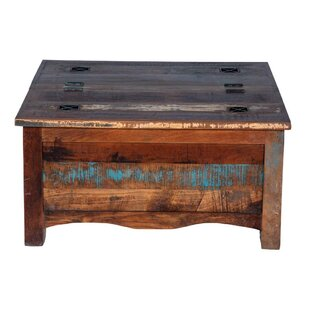 Jeter Fall Trunk Coffee Table by Bloomsbury Market