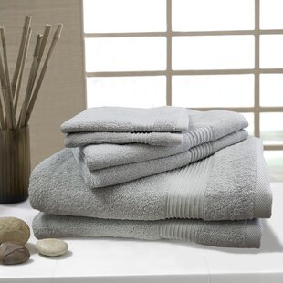 W Home 6 Piece Rayon from Bamboo Towel Set