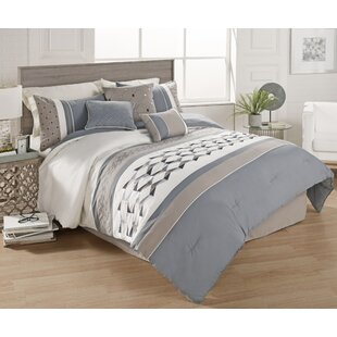 Hedge 7 Piece Comforter Set