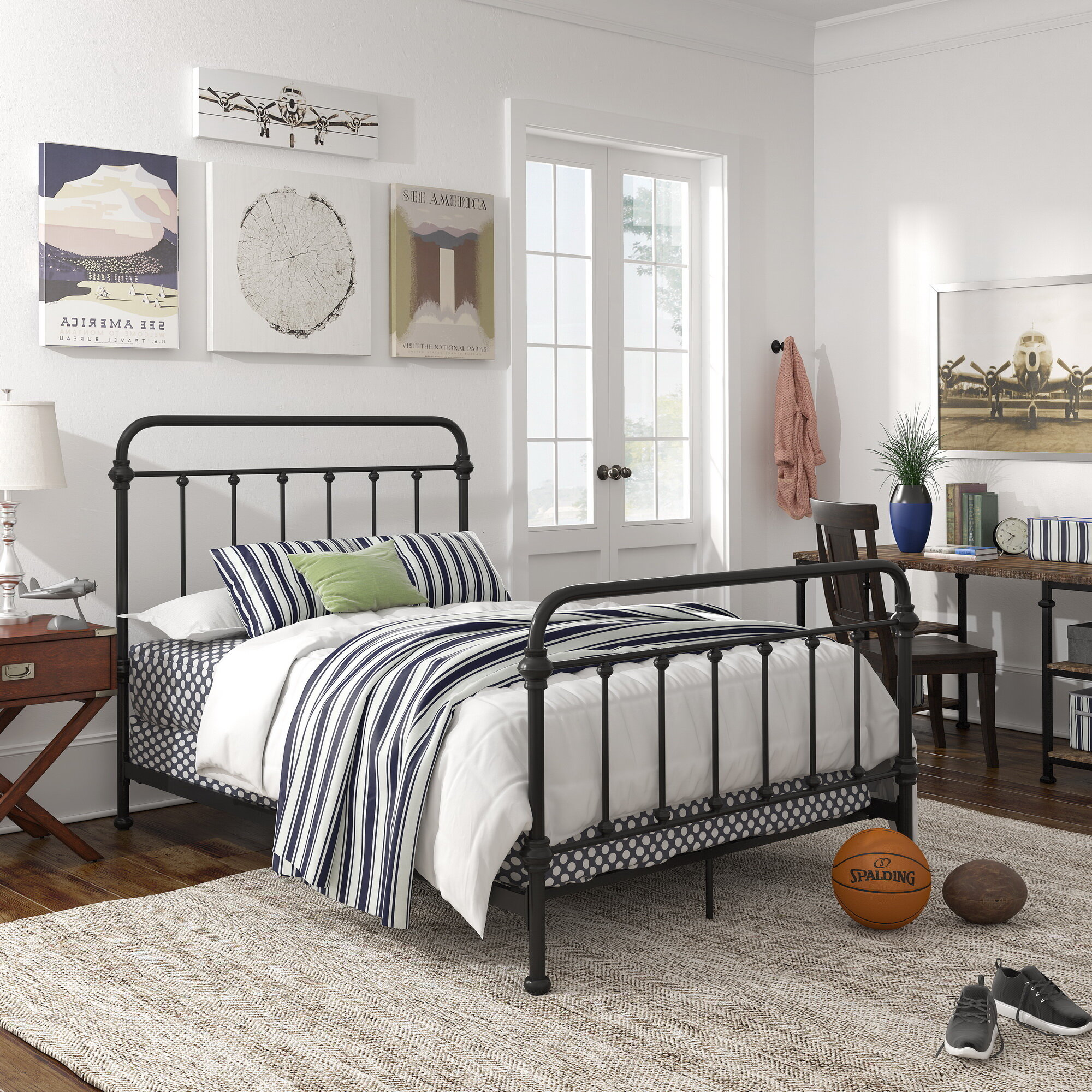 Image of: Black Beds You Ll Love In 2020 Wayfair