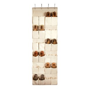 Great Price Nature of Storage 24-Pocket 12 Pair Hanging Shoe Organizer By Richards Homewares