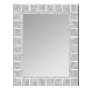 Reviews Ehmann Block Bathroom/Vanity Mirror By Ebern Designs