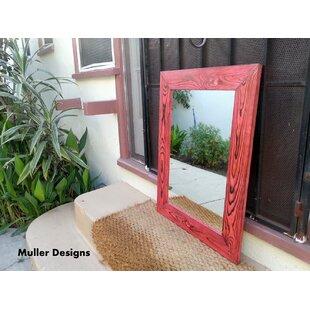 World Menagerie Branum Wooden Accent Mirror
