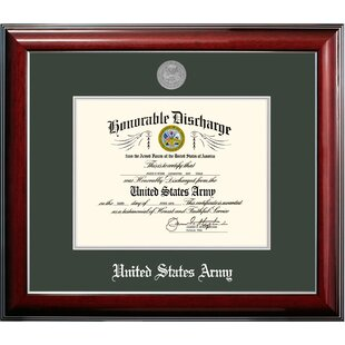 Army Discharge Classic Picture Frame by Patriot Frames