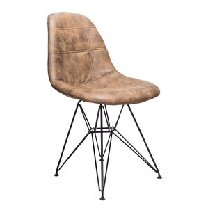 Cristopher Checkerboard Side Chair by Willis..