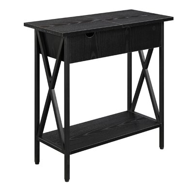 Abbottsmoor End Table Color: Black by Andover Mills