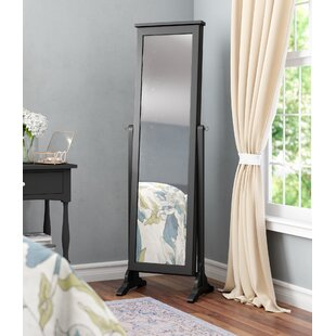 Dallastown Jewelry Armoire with Mirror