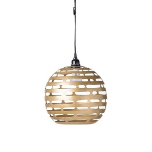 Flannery 1-Light Pendant by Ivy Bronx