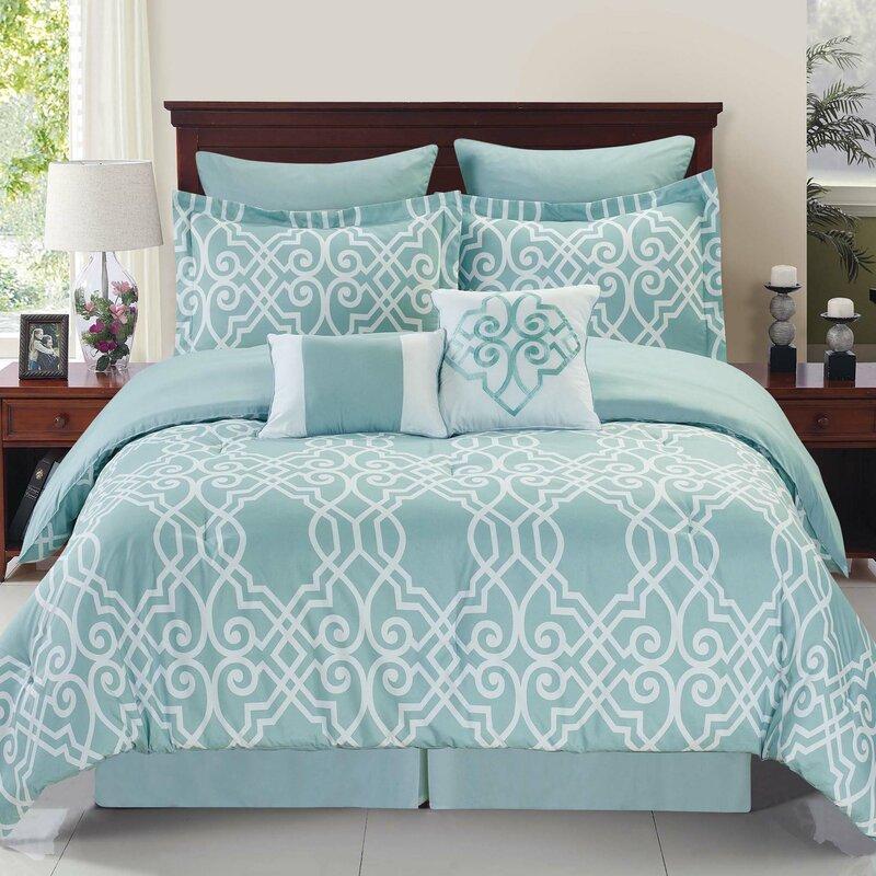 Willa arlo interiors fortunata dawson comforter set - Willa arlo interiors keeley bar cart ...
