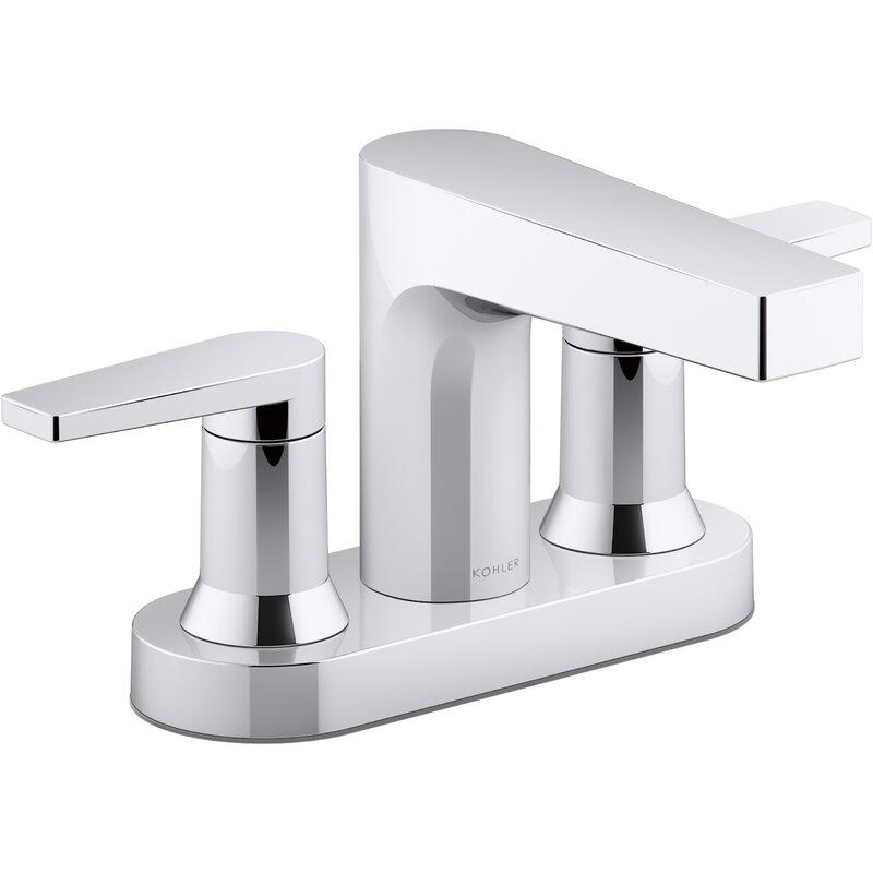 Kohler Taut Centerset Bathroom Sink Faucet Wayfair