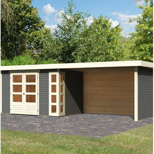 557 cm x 217 cm Gartenhaus Kerko 4 Woodfeeling   Garten > Gartenhäuser   Woodfeeling