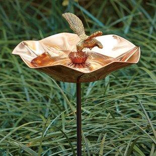 Birch Lane™ Hummingbird Birdbath
