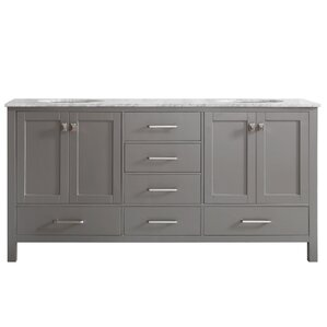 Bathroom Cabinets 72 Inches 72 inch vanities you'll love | wayfair
