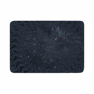 Matt Eklund Lunar Chaos Celestial Memory Foam Bath Rug