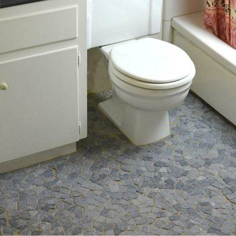 Pebble Tile Fit Random Sized Marble