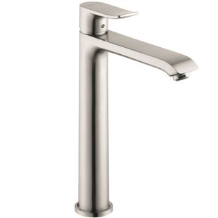 Affordable Metris Single Single Hole Standard Bathroom Faucet By Hansgrohe