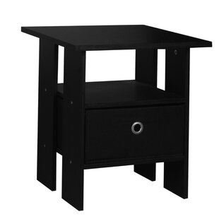 Sherbrooke Side Table With Storage By 17 Stories