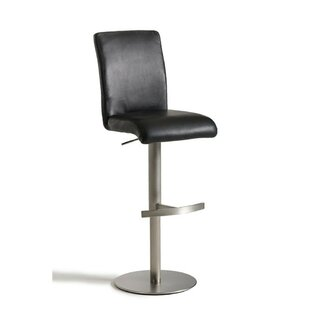 Hartwell Adjustable Height Swivel Bar Stool Orren Ellis