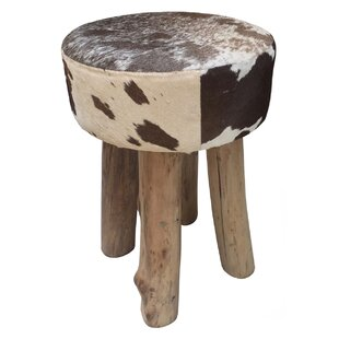 Renteria Round Accent Stool by Union Rustic