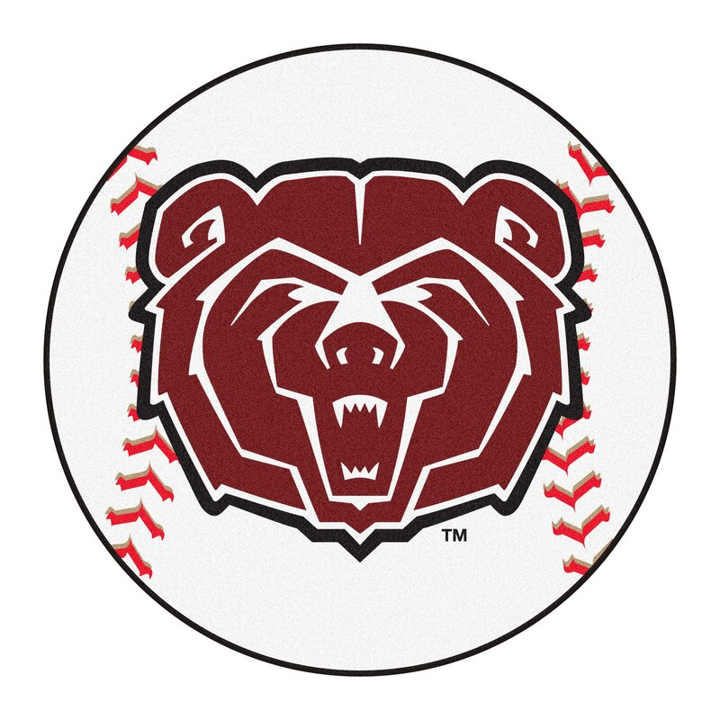 Fanmats Ncaa Missouri State Baseball 27 In X 27 In Non Slip Indoor Only Mat Wayfair