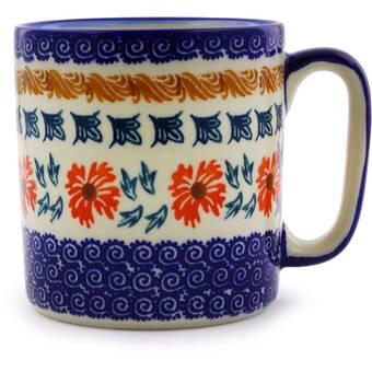 The Holiday Aisle Rowell Pottery Coffee Mug Wayfair