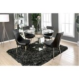 Suprident Contemporary 5 Piece Solid Wood Dining Set by Orren Ellis