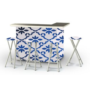 Patio 9 Piece Bar Set