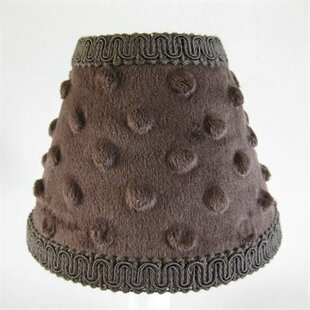 Chocolate Minky 11 Fabric Empire Lamp Shade