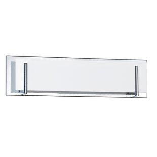 Price comparison Chesney 4-Light Glass Shade Bath Bar By Wade Logan