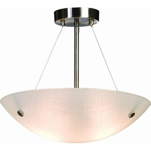 2-Light Bowl Pendant by Efficient Lighting
