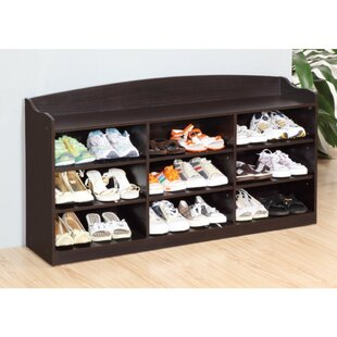 Order Spacious Shoe Storage Cabinet with 9 Shelves By Red Barrel Studio