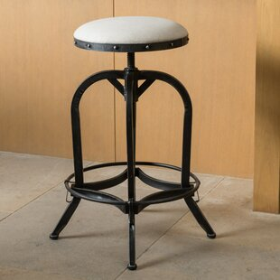 Mira Adjustable Height Swivel Bar Stool Trent Austin Design